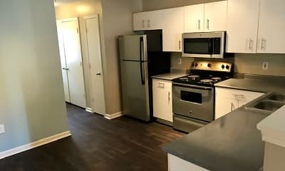 Kitchen, Concord Flats, 1
