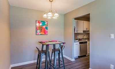 Dining Room, Madison Park Apartments, 2