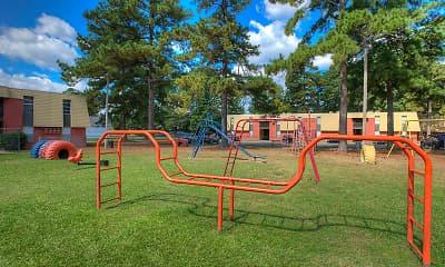 Playground, Sunset Village Apartments, 2