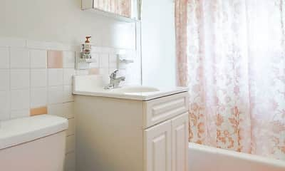 Bathroom, Mary Gardens Apartments, 2