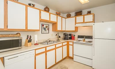 Kitchen, Cottages of Liberal, 1