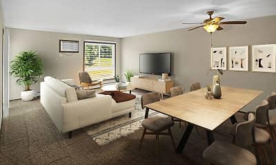 Living Room, Grand Pre East Apartments, 0