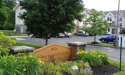 Community Signage, Bishop J. Farris Senior Living Apartments, 0