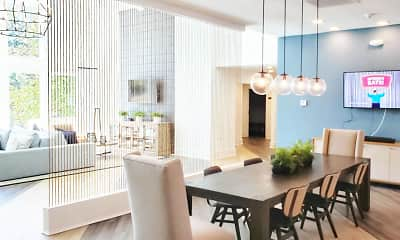 Dining Room, Waterview, 1