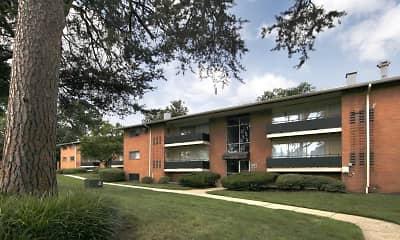 Building, Laurel Pines, 1