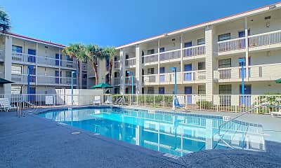 Pool, Stayable Suites Jacksonville, 2