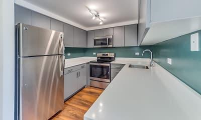 Kitchen, Evanston Place Apartments, 1