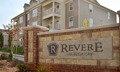 Community Signage, Revere at Tega Cay, 1