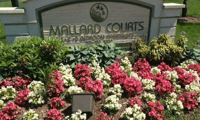 Community Signage, Mallard Courts Apartments, 2