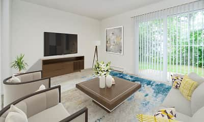 Living Room, Vineland Village Apartment Homes, 0