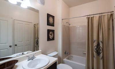 Bathroom, Brookstone Park Apartments, 2