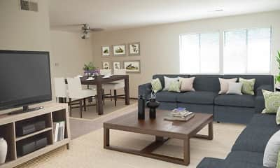 Living Room, Squires Manor Apartment Homes, 0