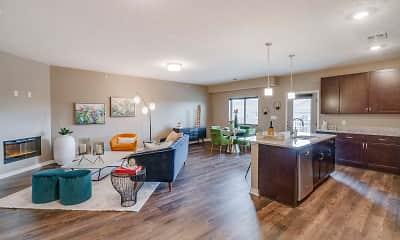 Living Room, The Flats at Shadow Creek, 1