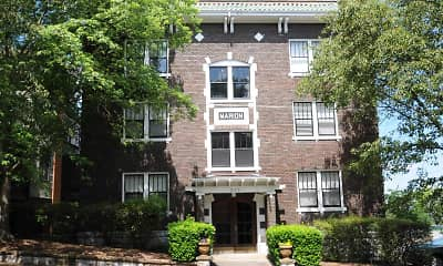Courtyard, Lindsay 414 Apartments, 0