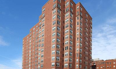 Building, Crittenden Court Apartments, 2