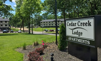 Community Signage, Cedar Creek Lodge, 2