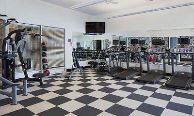 Fitness Weight Room, Stone Bridge at Raritan, 1