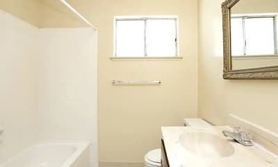 Bathroom, Casa Blanca Apartments, 2