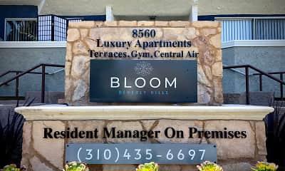 Community Signage, Bloom Beverly Hills, 2