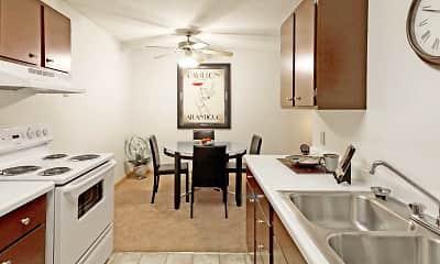 Kitchen, Bradley House Apartments, 0