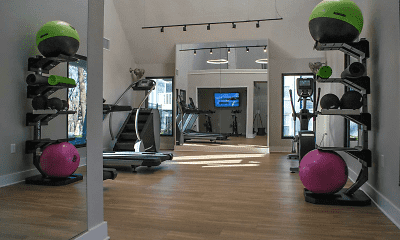 Fitness Weight Room, Cameron South Park, 2