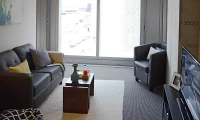 Living Room, evo at Cira Centre South, 1