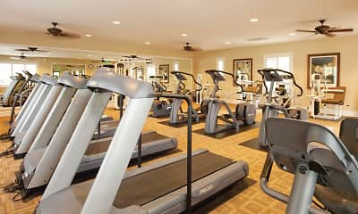 Fitness Weight Room, Woodbury Lane Apartment Homes, 2