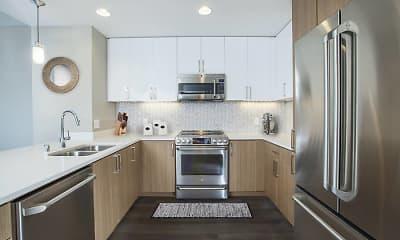 Kitchen, Avalon Towers on the Peninsula, 1