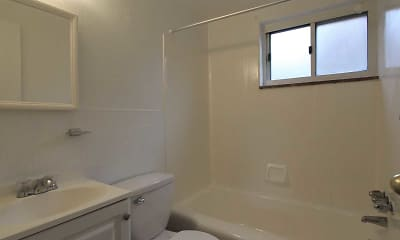 Bathroom, Whitehall Place Apartments, 2