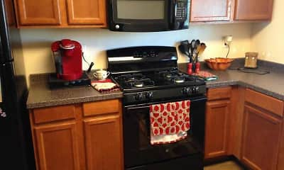 Kitchen, Eastgate Apartments, 0