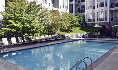 Pool, Dobson Mills Apartments & Lofts, 2