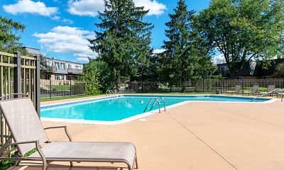 Pool, Hamilton Trace Apartments, 0