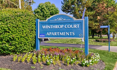 Community Signage, Winthrop Court, 2