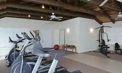 Fitness Weight Room, Tuscany at Midtown, 2