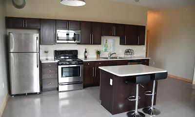 Kitchen, 501 Brady, 1