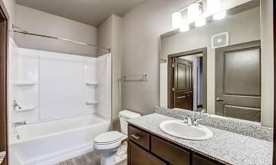Bathroom, The Flats at Austin Landing, 2