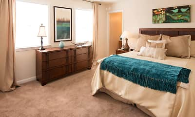 Bedroom, Yester Oaks Apartment Homes, 1