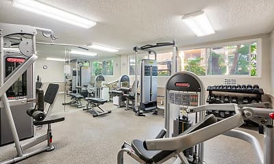 Fitness Weight Room, Casa Granada, 1