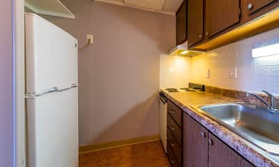 Kitchen, Maple Ridge Apartments, 1