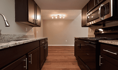 Kitchen, Heatherstone Apartment Homes, 2