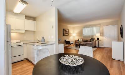 Living Room, Glenwood Garden, 1