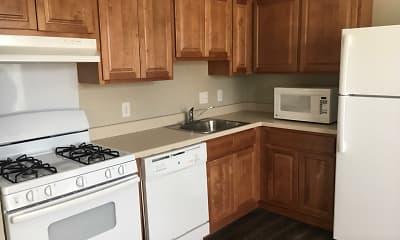 Kitchen, Oaks on Lamar, 0