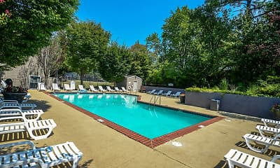 Pool, Lynnfield Place, 1