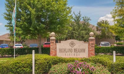 Community Signage, Highland Meadow Village, 2