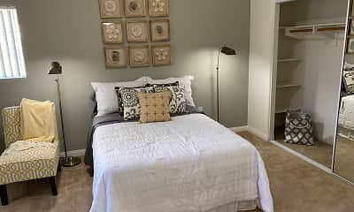 Bedroom, Crescent Heights Luxury Apartment Homes, 1