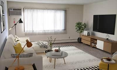 Living Room, Scotland Green Apartments, 1
