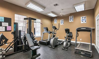 Fitness Weight Room, Forestwood, 2