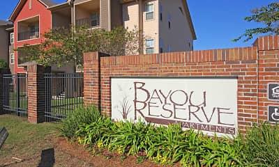 Community Signage, Bayou Reserve, 2