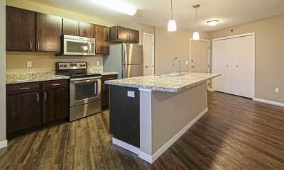 Kitchen, Veraway Apartments, 0