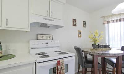 Kitchen, Savory Village Apartments, 1